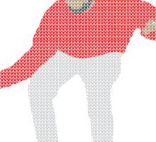 Ugly Sweater Christmas Hotline Bling Dance Sticker
