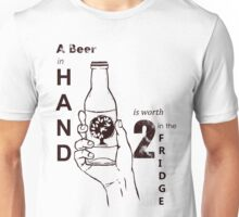 A Beer In Hand Unisex T-Shirt