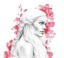 Daenerys Stormborn by leahmgriffiths