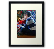 My Christmas Gift.... Framed Print