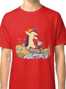 calvin and hobbes meets pokemon Classic T-Shirt