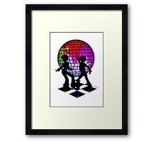 Retro Music DJ! Feel The Oldies! DANCE! Framed Print