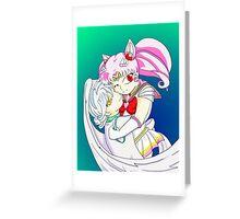 Chibusa and Pegasus Greeting Card