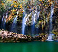 Silent Waterfalls by Baki Karacay