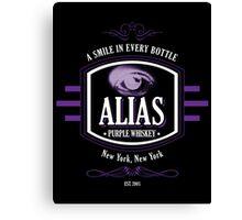AKA Whisky Brand Canvas Print