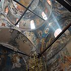 Light at the Patriachate of Peja, Kosovo (color) by David Perrin