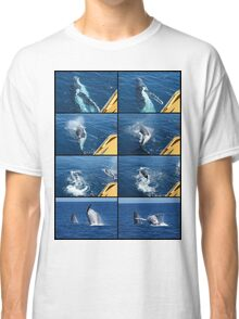 Humpback Whale Calf Collage 1 Classic T-Shirt
