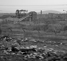 Deserted Industrial Landscape #3 by David Perrin