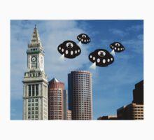 Aliens invade Boston One Piece - Short Sleeve