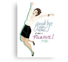 Highschool graduation Canvas Print