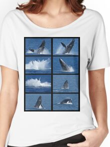 Humpback Whales Breaching 3 Women's Relaxed Fit T-Shirt