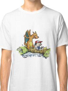 calvin meets charizard Classic T-Shirt