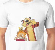 calvin and hobbes yucks Unisex T-Shirt