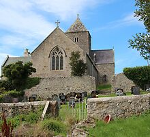 St Seiriol's Church, Penmon, Anglesey by Reg Goodrum