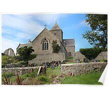 St Seiriol's Church, Penmon, Anglesey Poster