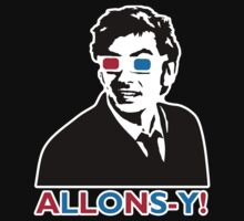 Allons-y! in black by plasticdoughnut