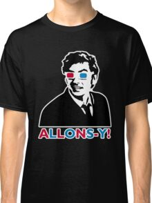 Allons-y! in black Classic T-Shirt
