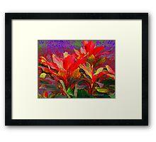 Foliage Fantasia Framed Print