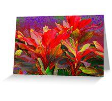 Foliage Fantasia Greeting Card