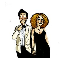 River Song and The doctor Photographic Print