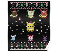 Ugly Christmas Sweatshirt- Poke' ugly christmas-Ugly Christmas Gifts Poster