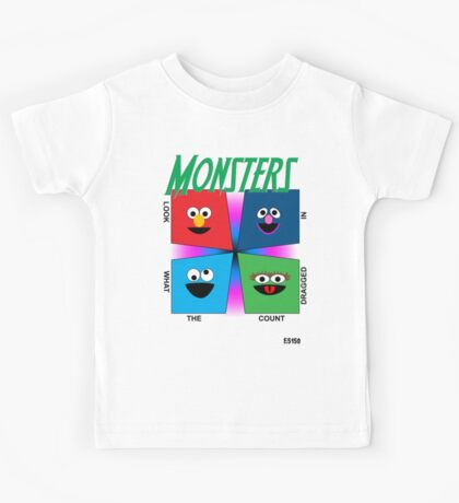 Look What The Count Dragged In Kids Tee