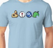 Distressed Animal Crossing Items  Unisex T-Shirt