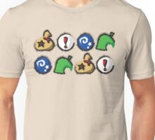 Distressed Animal Crossing Items 2  Unisex T-Shirt