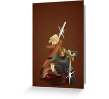 Kingslayer and Wench Greeting Card