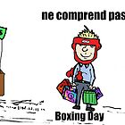 Bande dessinée de Boxing Day malentendu by Binary-Options