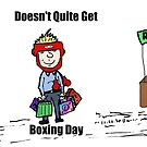 Misunderstanding Boxing Day cartoon by Binary-Options