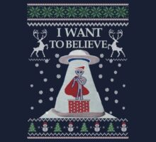 Ugly Christmas Sweater- Super Ugly Christmas Sweater-Magical Ugly Christmas  by Martint