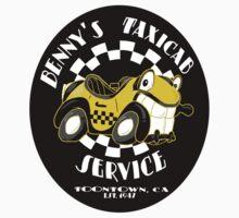 Benny's Taxicab Service (STICKER) by GroovyGecko