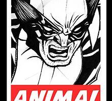 Wolverine Obey  by joshfitton