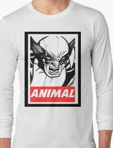 Wolverine Obey  Long Sleeve T-Shirt