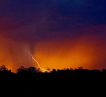 Electrical Sunset by Penny Kittel