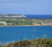 Mellieha Bay by Dansam1
