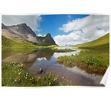 Idyllic Alps Poster