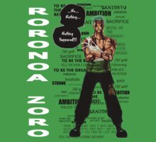 Roronoa Zoro - nothing happened [WB] by ThePhysicist R