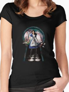Alice: Madness Returns Women's Fitted Scoop T-Shirt