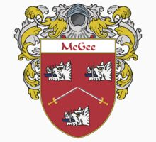 McGee Coat of Arms/Family Crest Kids Clothes