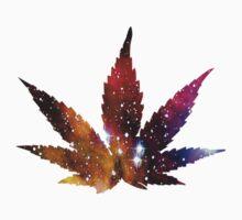 Purple Weed Leaf  by Kurta3