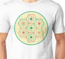 Circle, Square, Triangle Unisex T-Shirt