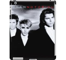Vintage Duran Duran Notorious iPad Case/Skin