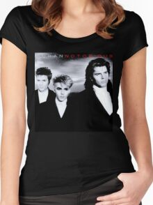 Vintage Duran Duran Notorious Women's Fitted Scoop T-Shirt
