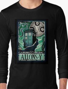 Dr. Who Nouveau Long Sleeve T-Shirt