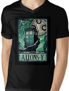 Dr. Who Nouveau Mens V-Neck T-Shirt