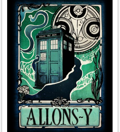 Dr. Who Nouveau Sticker