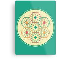 Circle, Square, Triangle Metal Print
