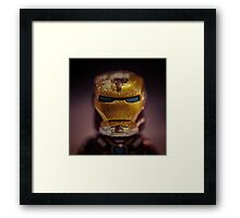 Iron Miniman Framed Print